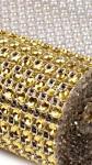 Diamantový pás zlatý (š.3cm) 1m.