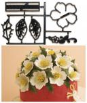 Patchwork - Čemerica čierna (vianočná ruža)