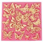 Silik. forma motýle