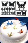 Patchwork - motýle (butterflies) sada