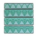 Lišta vytláčacia Textured Lace č.3